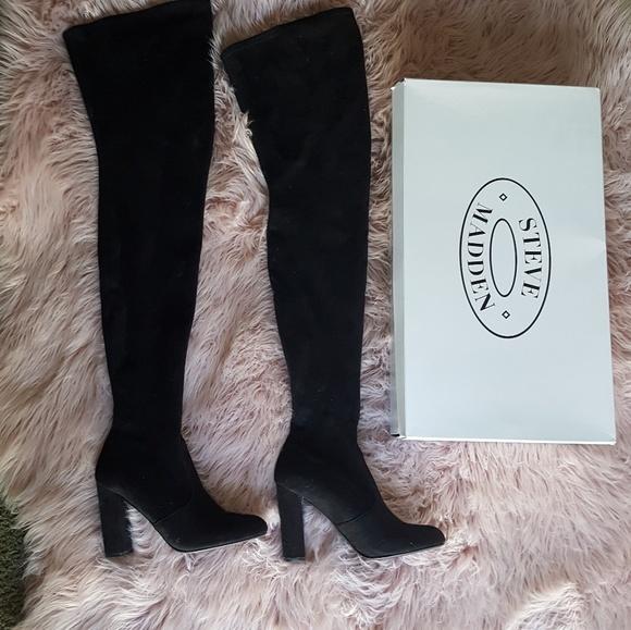bc0ddceb28b Steve Madden Ezra Thigh High Boots
